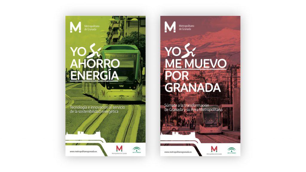 Diseño de Campaña inauguración Metropolitano de Granada