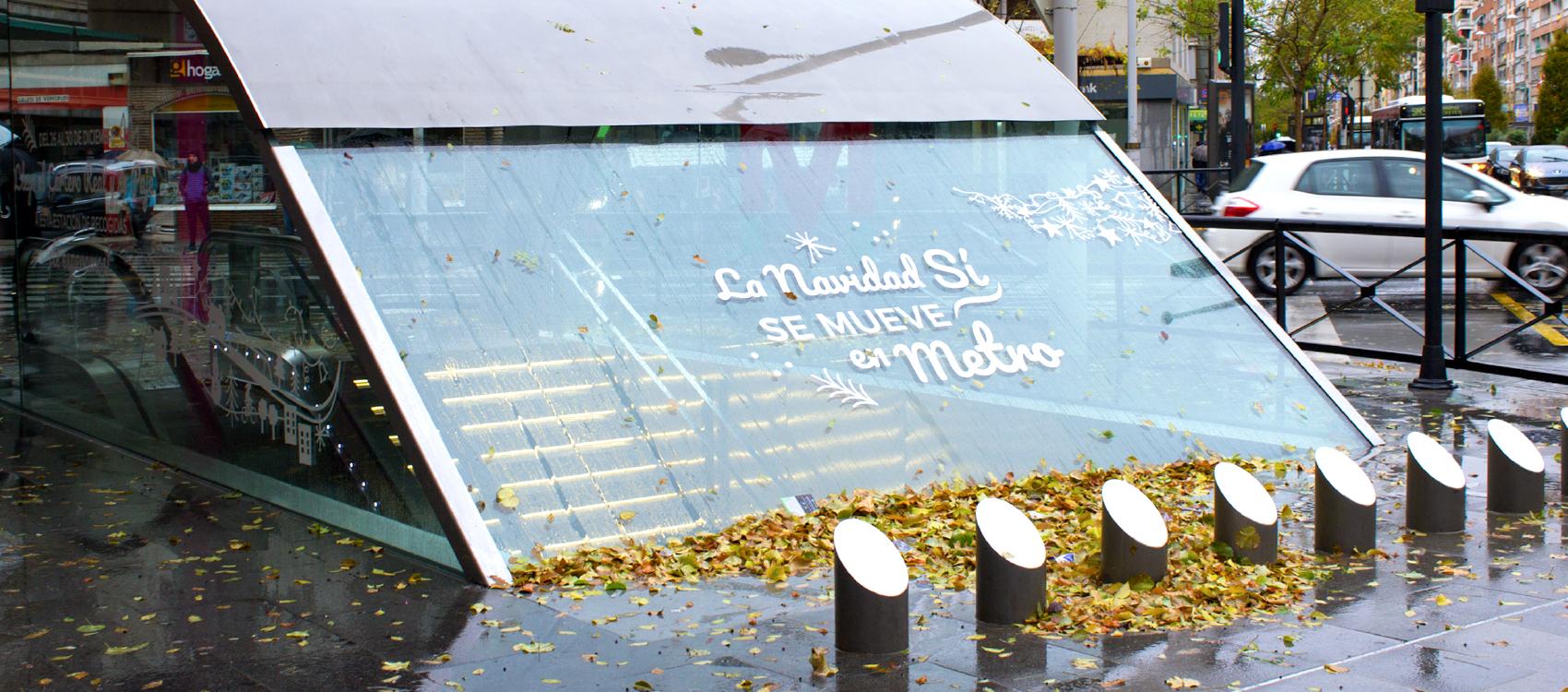 Diseño de Campaña Navidad Metropolitano de Granada